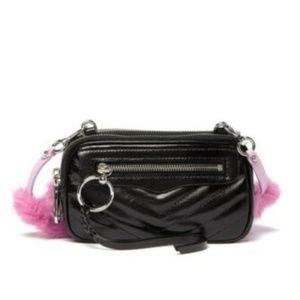 Rebecca Minkoff Leather Double Zip Crossbody Bag